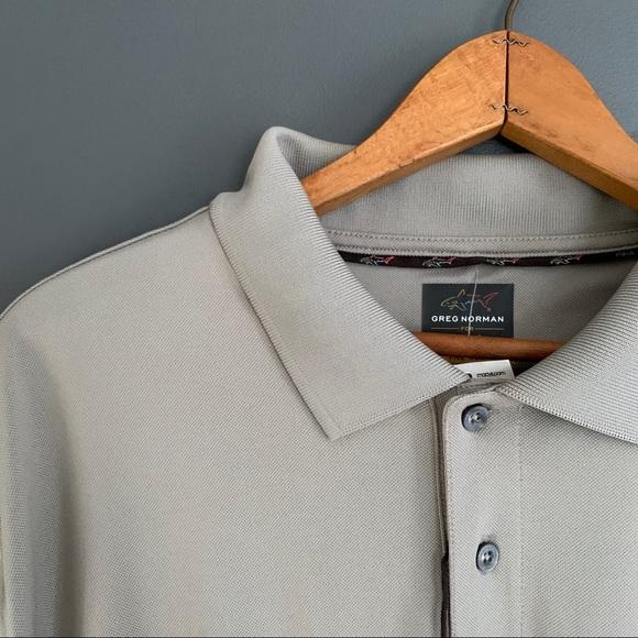 Greg Norman for Tasso Elba Five Iron Polo Shirt SS